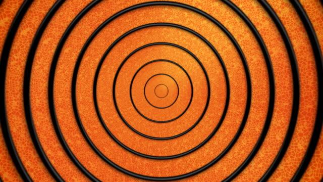 Hypnotic Cartoon title Circles -plain version video