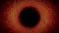 Hypnotic tunnel of wavy thin lines video