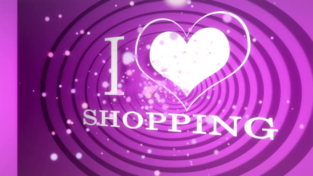 i love shopping video