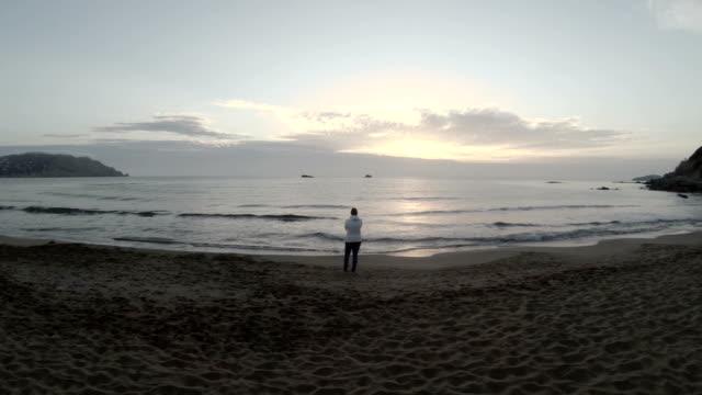 Ibiza Beach At Sunrise (Fly Over) video