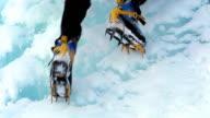 Ice climbing (HD 1080) video