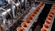 Ice cream automatic production line video