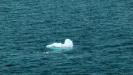 Ice Floating-by in the Southern Ocean of Antarctica video
