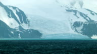 Ice Glacier in Antarctica Close-up video