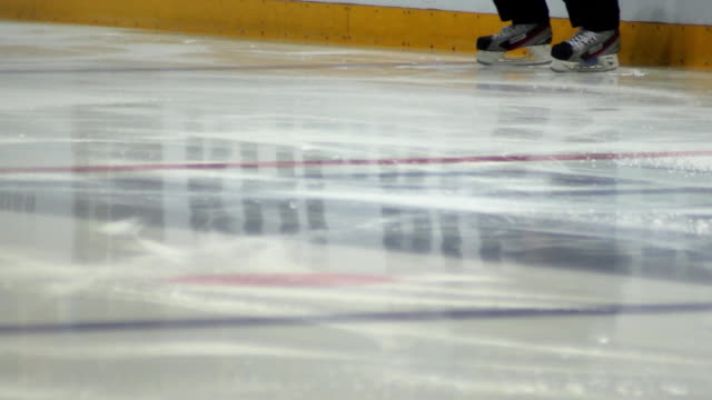 ice hockey referee warm-up video