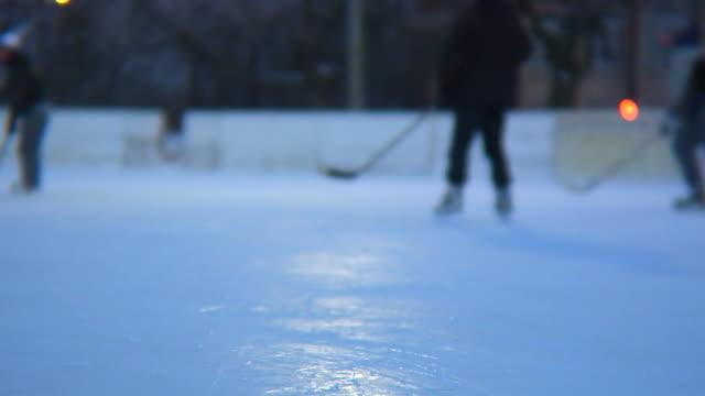 ice hockey rink video