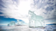 Ice Horses, TimeLapse video