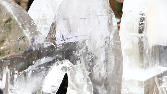 Ice Sculpture Carving video