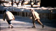 Ice Skating At The Local Rink (1960 Vintage 8mm) video