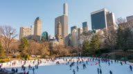 Ice skating in Central Park video