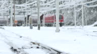 Ice Storm Damage On The Railway video