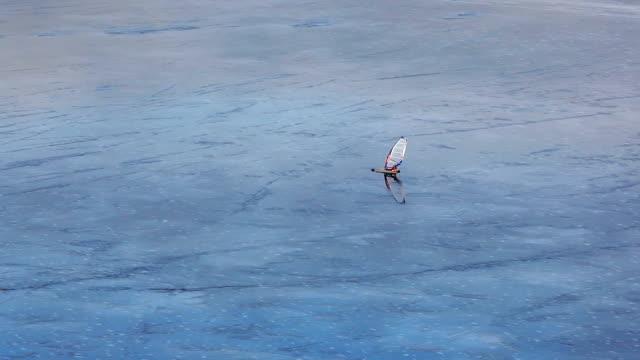 Ice Wind Surfer video