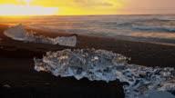 DS Icebergs on the black beach video