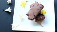 Ice-cream chocolate video