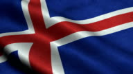 Iceland Flag video
