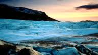 Iceland glacier video