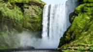 Iceland Waterfall Skogafoss video
