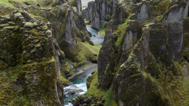 Iceland's canyon video