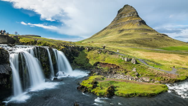 Iceland's landscape time lapse video