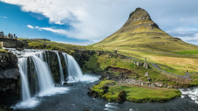 Iceland's most iconic landmark time lapse video