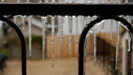 Icicles Forming video