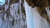 DS Icicles of the waterfall video