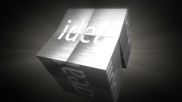 Idea cube video