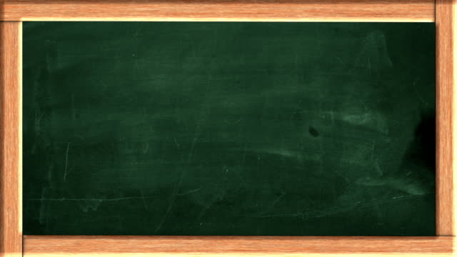 Idea lightbulb on the green blackboard HD Animation video
