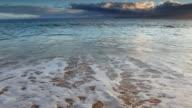 idyllci maui sunset - pacific ocean video
