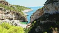 DS Idyllic beach Stiniva cove video
