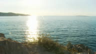 HD DOLLY: Idyllic Mediterranean Seascape video