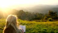 Idyllic study in nature video