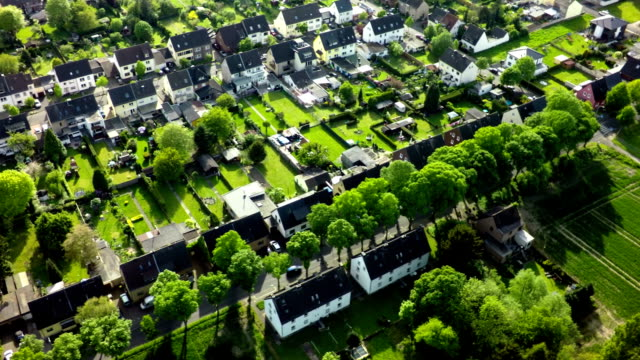 AERIAL: Idyllic Village in Germany video