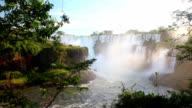 Iguazu Falls in Argentina Waterfall video