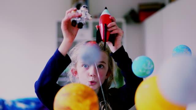 Imaginative Little Girl video