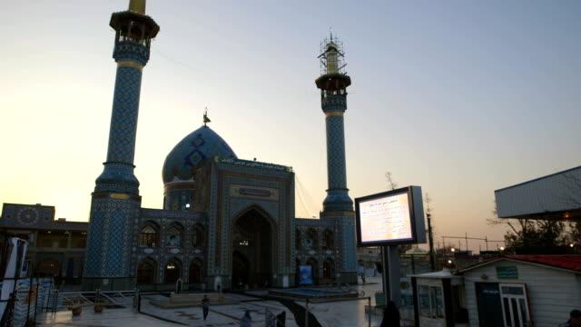 Imamzadeh Saleh, a mosque in Tehran video