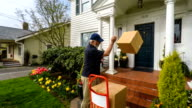 Impatient Disgruntled Senior Delivery Man video