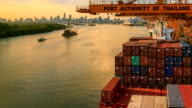 Import Cargo River Side Sunset video