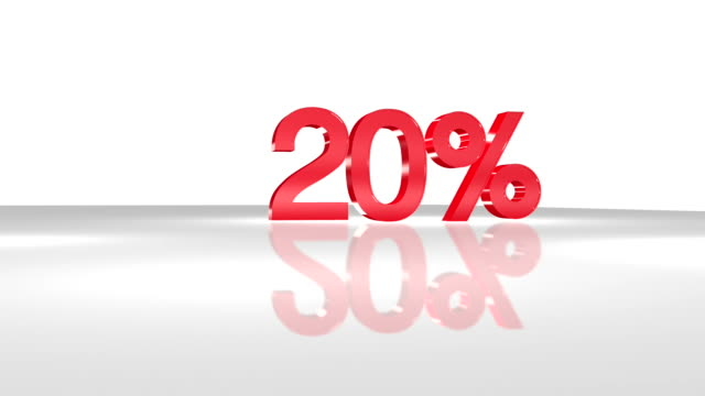 20% in 3D animation in FullHD. video