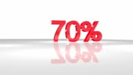 70% in 3D animation in FullHD. video