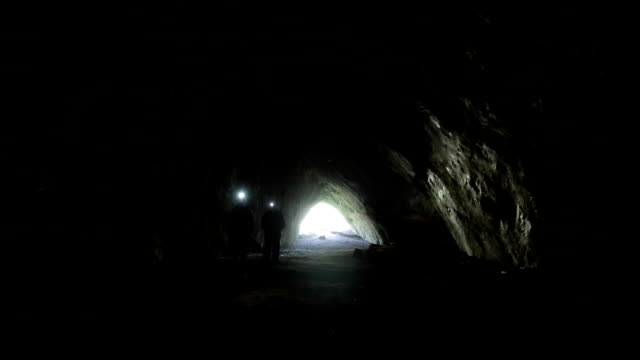 In a cave video