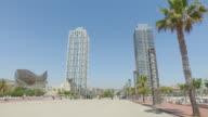 POV in Barcelona summer vacations video