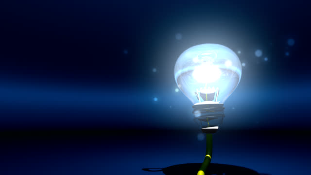 incandescent bulb that illuminates the darkness of my mind video