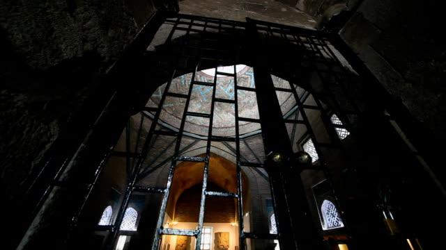 ince minareli medresah museum, konya, turkey. video