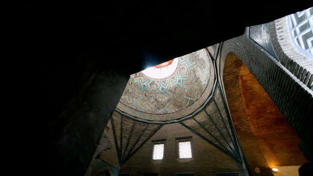 ince minaret museum, konya, turkey. video