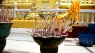 incense burned video