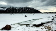 TIME LAPSE: Incoming flood at Arctic Coast video