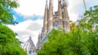 Incomplete La Sagrada Familia - The Holy Family, Barcelona video