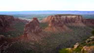 Independence Rock Colorado National Monument Near Grand Junction video