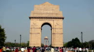 India Gate in Delhi video
